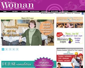 BusinessWoman PA Web